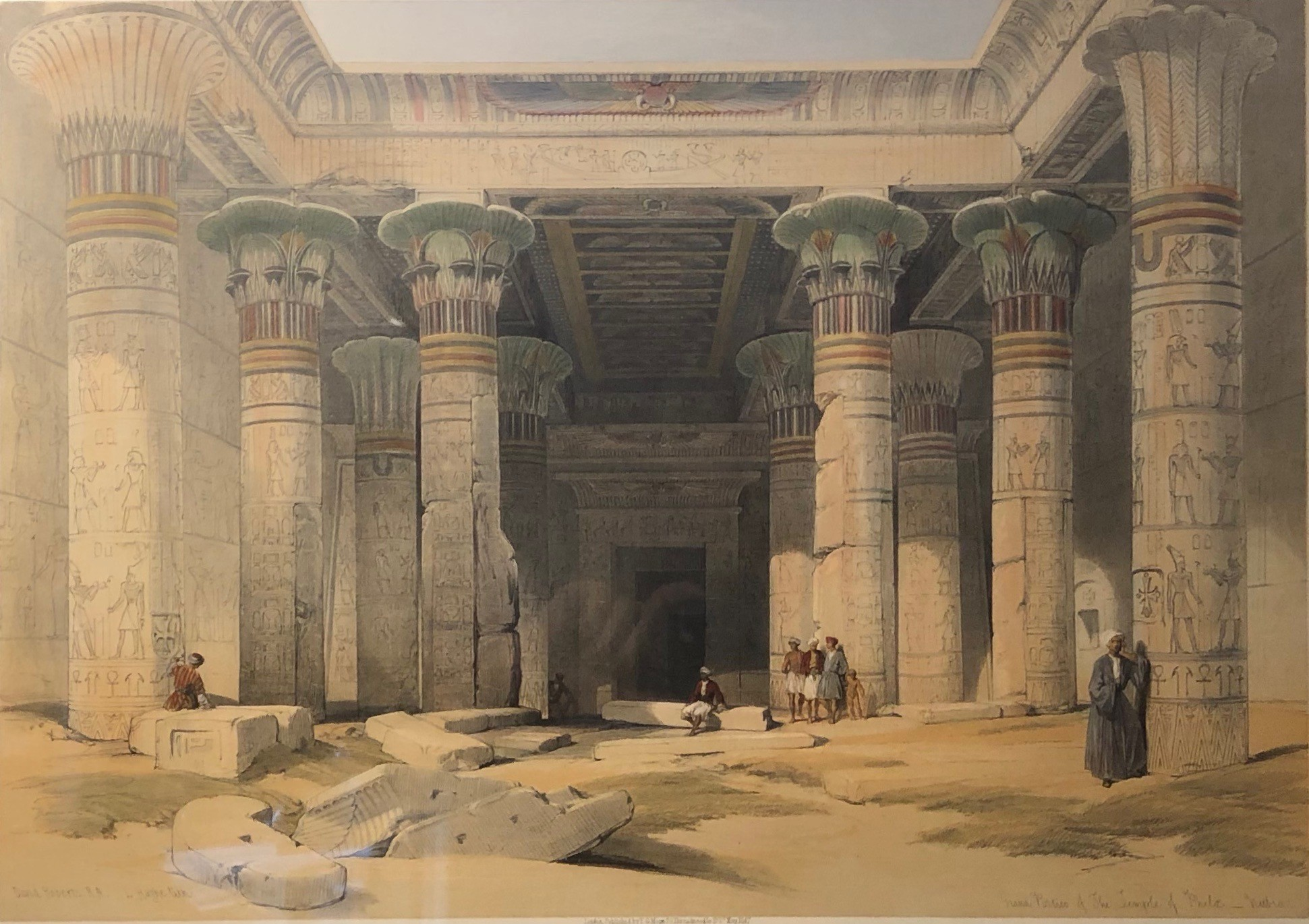Grand Portico of the Temple of Philae